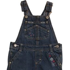 3/$25 Osh Kosh Vestbak Embroidered Overalls 24M